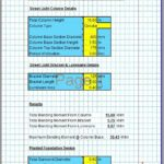 Street Light Foundation Design Spreadsheet4